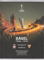 Orig.PRG   Europa League   2015/16  FINALE   SEVILLA FC - FC LIVERPOOL !! SELTEN