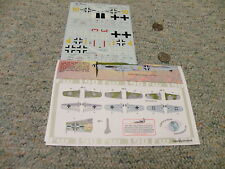 Aeromaster  decals 1/48 48-720  Late Doras Part 2   L87
