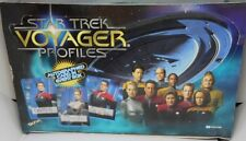1998 Star Trek VOYAGER  PROFILES TRADING CARD BASE SET   SKYBOX  <*{{{--<