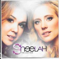 SHEELAH - The last time Promo CD SINGLE 1TR Europop / Dance 2011 Sweden