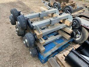 Knott Avonride 1350kgs braked trailer axle 4 stud 100mm pcd