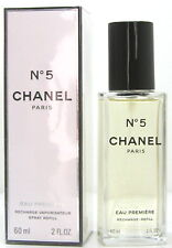 Chanel No 5 EAU PREMIERE EDP 60 ML REFILL/recharge nuovo OVP