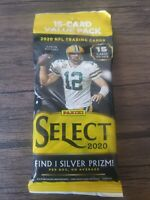 NEW 2020 PANINI SELECT FOOTBALL - FAT PACK - CELLO - Factory Sealed