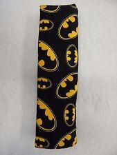 Car Seat Belt Cover  - Batman Symbol - Logo - Fits Standard Seat Belt Handmade