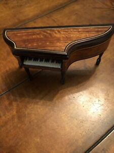 Vintage Dollhouse Miniature Piano signed by George Becker