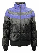 Puma Colorblock Padded Zip Up Womens Coat Winter Jacket 561969 01 A50C