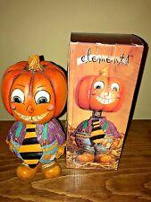 Country Primitive Elements Bobbing Head Halloween Man