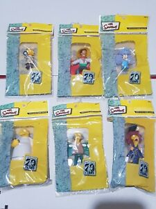 The Simpsons 20th Anniversary Limited Edition Figurines Mixed Lot
