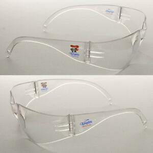6 Pairs of New NRL Knights Safety Glasses Clear Lens Merchandise AS/NZS1337.1