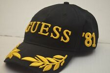RARE Guess '81 Gumball 3000 Snapback Baseball Hat Cap W/Raised Graphics