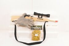 MAGNUM RUBBER BAND GUNS GL2JRSRSS JR. SNIPER RIFLE  W/ SCOPE & SLING W/ AMMO