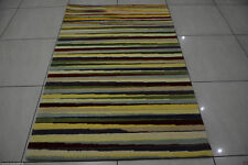 India Handmade Tufted 120x180 4x6 Modern Wool Soft Thick Carpet Area Rug Teppich