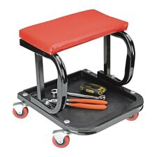 Mechanic's Roller Seat Tool Tray Storage Swivel Rolling Steel Auto Shop Garage