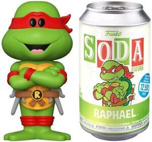 Funko - Vinyl SODA: TMNT-Teenage Mutant Ninja Turtles Raphael w/ Chase New