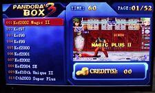 2016 nuevo 520 en 1 caja de Pandora 3 juegos de arcade Jamma multi Board Game