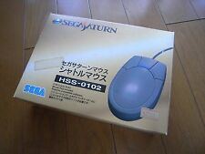 Sega Saturn Official Controller Pad Grey Boxed Japan