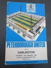Peterborough United  V  Darlington  1968/9