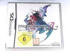 Juego: final Fantasy a2 Grimoire o.a para Nintendo DS Lite + + xl + 2ds + 3ds
