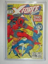 X-Force #11 1st appearance of real Domino 8.0 VF (1992 1st Series)