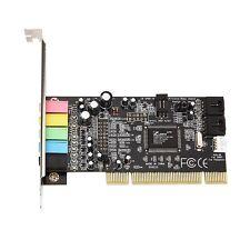Pci sound card encoding 6 audio sound card cmi8738 PC sound card 5.1 stereo