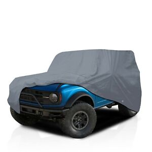 [CSC] 5 Layer Waterproof Full Car Cover for Ford BRONCO Compact SUV 1966-1977