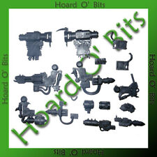 WARHAMMER 40K BIN BITS ORK KILLA KANS - 4x HEAVY WEAPON ARMS