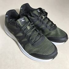 Athletic Works Shoes Mens US Size 10.5 Dark Olive Green Black Memory Foam Insole