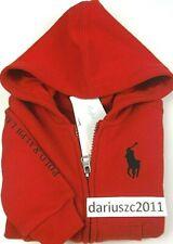 Ralph Lauren $49 Baby Boys Red Hoodie Jacket  Size 18M