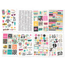 Simple Stories Good Vibes Collection 4x6 cardstock stickers #10091
