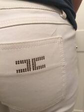 Pantalone Elisabetta Franchi Tg 44 Bianco