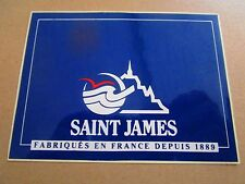 AUTOCOLLANT STICKER AUFKLEBER SAINT JAMES PULL BONNET VETEMENT MONT SAINT MICHEL