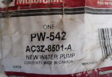 Motorcraft PW-542 New Water Pump