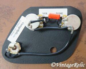 Les Paul LP Junior Pre-wired upgrade harness .022uF Orange Drop Cap fits Gibson