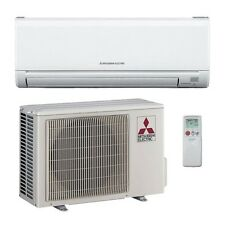 9,000 Btu 24.6 Seer Mitsubishi Single Zone Mini Split Air Conditioning System