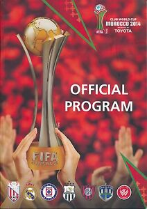 FIFA CLUB WORLD CUP 2014 in  Morocco - Official Tournament programme in ENGLISH