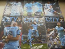 2014/15 MAN CITY HOME PROGRAMMES - CHOOSE FROM (MANCHESTER) 2015