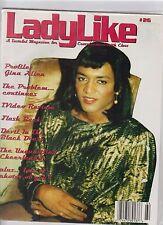 LadyLike magazine #26 1995  for CROSSDRESSERS/transgender