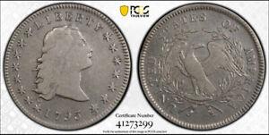 1795 Flowing Hair Dollar - Vivid Example PCGS Certified Fine Details