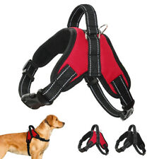 Dog Walking Harness No Pull Large Dog Reflective Padded Vest Adjustable W/Handle