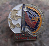 NASA Space Shuttle STS 87 Columbia Microgravity Payload USMP-4 Mission Pin Badge