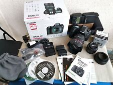 Canon EOS 6d EF IS USM 24-70 f/4l, Kit + EF 50mm f/1, 8 II, + e-TTL-flash, OVP!!!