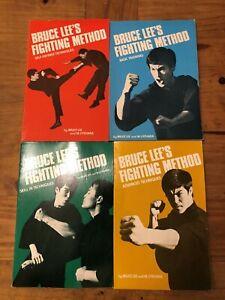 BRUCE LEE'S FIGHTING METHOD... 4 BOOK SET - PLUS BONUS BOOK
