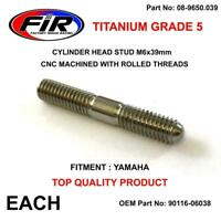 TITANIUM CYLINDER HEAD STUD MOUNT M6x39mm Yamaha, YZ250F, 2007-2013