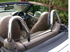 BMW Z3 Wind Deflector Tinted to fit Dual Chrome Hoops (Roll Bars not included)
