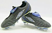 Umbro XAI JNR KTK SG Football/Rugby Boots Black/White/Blue Sizes uk5 and 5.5