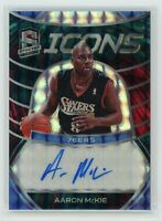 2019-20 AARON MCKIE 39/49 AUTO PANINI SPECTRA INTERSTELLAR ICONS AUTOGRAPHS
