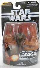 Star Wars Saga 017 C-3PO w/Battle Droid Head (1st Release) (Hasbro, 2006) New