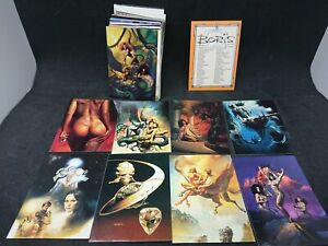 BORIS VALLEJO SERIES 2 1992 COMIC IMAGES COMPLETE BASE CARD SET OF 90 (1-90)