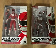 hasbro power rangers lightning collection red ranger & lord zedd new in boxes