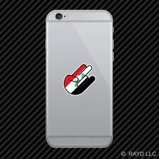 Iraqi Shocker Cell Phone Sticker Mobile Iraq IRQ IQ